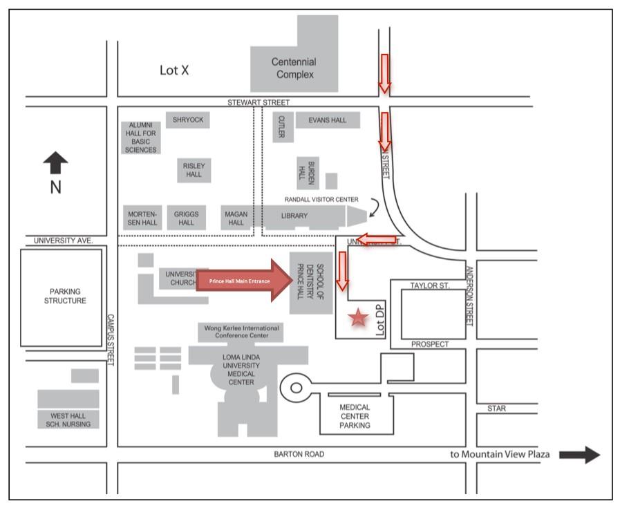 Directions | School of Dentistry | Loma Linda University