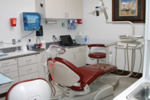 Operatory in the Graduate Prosthodontics Clinic