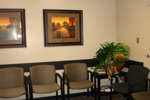 Graduate Prosthodontics Clinic waiting room