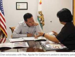 LLUSD pediatric dentistry team advocates for California kids oral healthcare